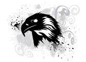 Eagle tattoo — Stock Vector