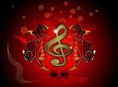 Musica, parola — Vettoriale Stock