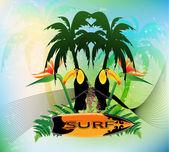 Surfen — Stockfoto