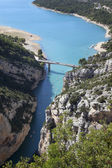 View of Gorges du Verdon in France — Stock Photo
