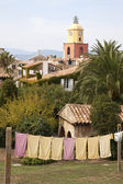 View of Saint-Tropez, France — Stock Photo