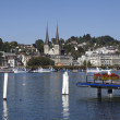 Luzern city view, Switzerland — Stock Photo