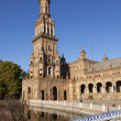 Tower on Plaza de Espana in Seville, Spain — Stock Photo