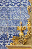 Ceramic wall tiles in Seville, Spain — Stock Photo