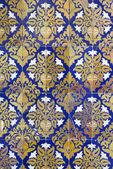 Ceramic wall tiles in Seville, Spain — Stock Photo