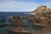 Natural pools in Porto Moniz, Madeira, Portugal — Stock Photo