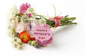 Beautiful bouquet of Spring flowers for Mother's Day — Stock Photo
