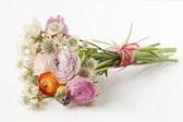 Mooi boeket van lentebloemen — Stockfoto
