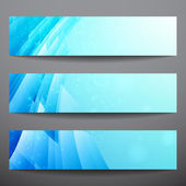 Abstract vector banners — Stock Vector