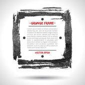 Grunge vector frame — Stock Vector