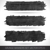 Grunge banners 004 — Stock Vector