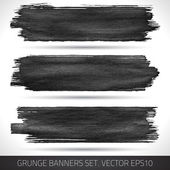 Grunge banners 006 — Stock Vector