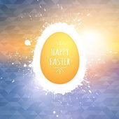 Happy Easter vector background — Stock Vector