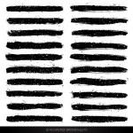 Grunge vector brushes — Stock Vector #48474597