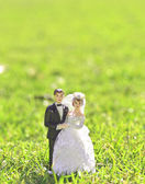 Wedding couple doll — Stock Photo