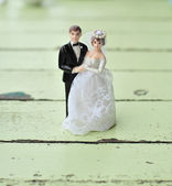 Wedding dolls — Stock Photo