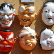 Stock Photo: Japanese masks