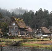 白川乡村 — 图库照片
