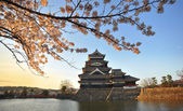 Japan castle Matsumoto — Stock Photo