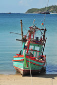 Fisherman boat — Stock Photo