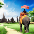 Stock Photo: Thailand travel concept