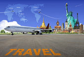 Travel the world. concept — Stock Photo