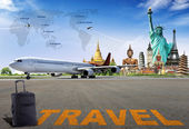 Travel the world. concept — Stockfoto