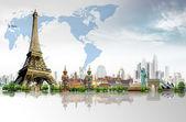 Podróżować po świecie. koncepcja — Zdjęcie stockowe