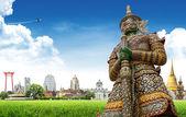 Thailand travel background concept — Stock Photo