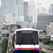 Sky train in Bangkok - Stock Photo