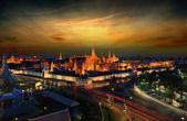 Wat pra kaew grand palace — Foto Stock