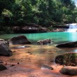 Stock Photo: Waterfall in thai national park