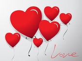 Fondo con corazones — Foto de Stock
