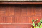 Wooden windows texture — Stock Photo