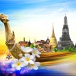Thailand travel background concept — Stock Photo #23247582