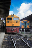 Train passing — Stock Photo