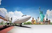Reizen de wereld — Stockfoto