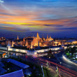Grand palace at twilight in Bangkok, Thailand — Stock Photo #25025301