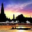 Stock Photo: Wat Arun Temple in bangkok thailand