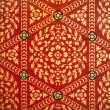 Thai art wall pattern for background — Stock Photo