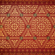 Thai art wall pattern for background  — Stock Photo #25737817