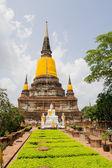 Ancient buddha statue Sukhothai Historical Park, Sukhothai Province, Thailand — Stock Photo