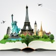 Book of travel — Stock Photo #40827689