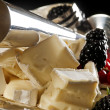 Cheese and  berries — Foto de Stock