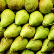 A group of green and fresh pears — Stock Photo #29554331