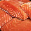 Uncooked fresh salmon — Stock Photo