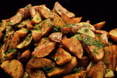 Potatoes fried with dill — Stock Photo