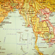 Map of South-East Asia — Stock Photo