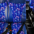 Bus interior — Stock Photo