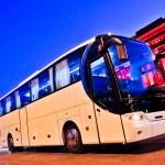 Bus interior — Stock Photo